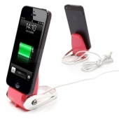 Sunyart Swarovski design Dock Station Pink for iPhone 5