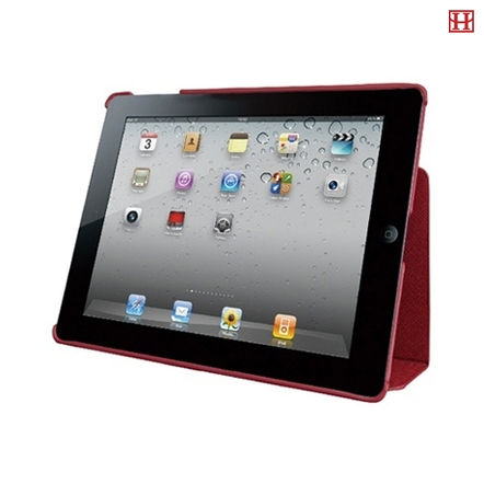 Ozaki iCoat Notebook Cross Patterns Red for iPad 2 3 4 (IC893ARD)