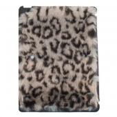 ION Fur Cover Grey Leopard for iPad 2 3 4 (i033-FUR027)
