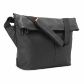 """Incase Leather/Canvas Mini Messenger 13"""" Black for Tablet/Laptop (CL60356)"""