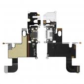 Шлейф подключения синхронизации/зарядки, 3.5 мм и микрофона (Charger flat cable connector with HF) iPhone 6 Black/White
