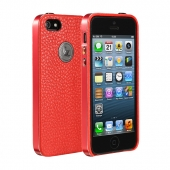 Jison Case Elegant Slim Case Red for iPhone 5/5S (JS-IP5-09C30)