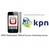 KPN Netherlands Iphone Unlock