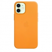 Apple Leather Case with MagSafe for iPhone 12 Mini California Poppy (MHK63)