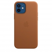 Apple Leather Case with MagSafe 12/12 Pro Saddle Brown (MHKF3)