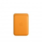 Apple Leather Wallet with MagSafe California Poppy (MHLP3)