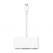 Адаптер Apple USB-C to VGA Multiport Adapter (MJ1L2)