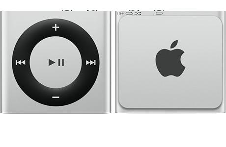 Apple iPod Shuffle 2GB Silver (MKMG2) New 2015