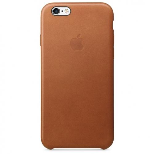 Чехол-накладка Apple Leather Case for iPhone 6/6S
