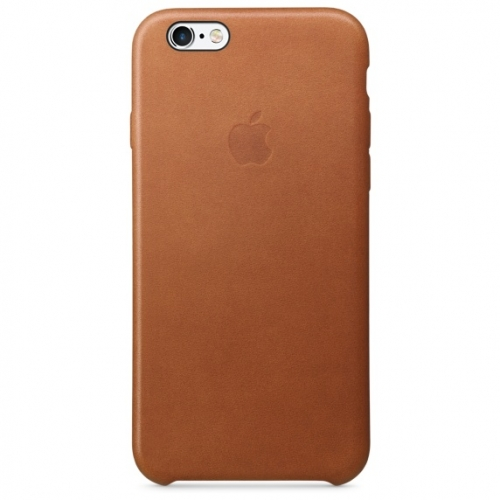 Чехол-накладка Apple Leather Case for iPhone 6/6S