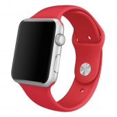 Ремешок Apple Watch Sport Band 42mm PRODUCT(RED) (MLDJ2ZM/A)