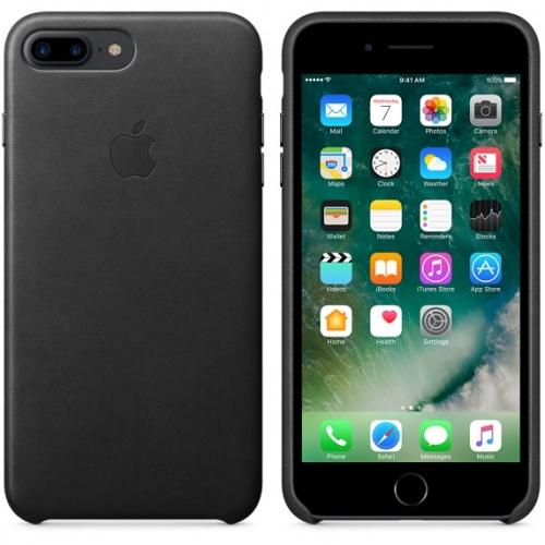 Чехол-накладка Apple Leather Case for iPhone 7 Plus