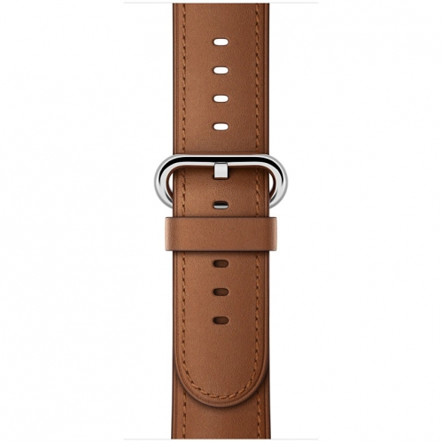 Часы Apple Watch Series 2 42mm Stainless Steel Case with Saddle Brown Classic Buckle (MNPV2)