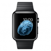 Часы Apple Watch Series 2 42mm Space Black Stainless Steel Case with Space Black Link Bracelet (MNQ02)