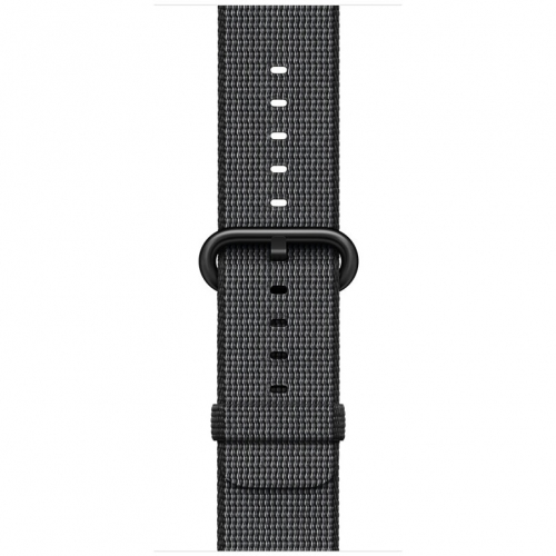 Часы Apple Watch Series 2 42mm Space Gray Aluminum Case with Black Woven Nylon Band (MP072)