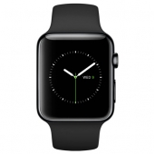 Б/У Apple Watch Series 2 42mm Space Black Stainless Steel Case with Black Sport Band (MP4A2) - идеал 5/5
