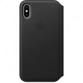 Чехол Apple iPhone X Leather Folio Case