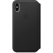 Чехол Apple iPhone X Leather Folio Case