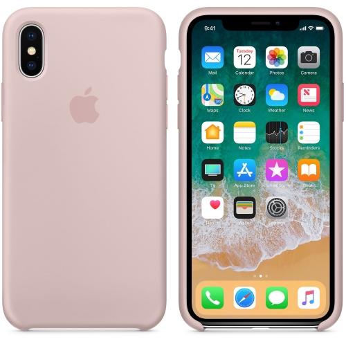 Чехол-накладка Apple Silicone Case for iPhone Хs (HC)