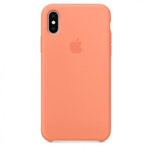 Чехол-накладка Apple Silicone Case for iPhone Х (HC)