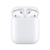 Акция! Наушники Apple AirPods with Wireless Charging Case (MRXJ2)
