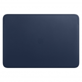 Чехол для ноутбука Apple Leather Sleeve for 16 MacBook Pro - Midnight Blue (MWVC2)