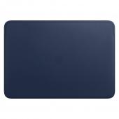 Чехол для ноутбука Apple Leather Sleeve for 16 MacBook Pro - Midnight Blue (MWVC2)