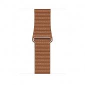 Ремешок Apple Watch Leather Loop Band Saddle Brown Medium MXAF2 for Apple Watch 44/42mm