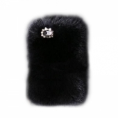 New Case Natural Fur Hard Case for iPhone 5/5S