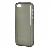 New Case Semitransparent Protect Case Black for iPhone 5C
