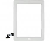 Стекло iPad 2 сенсорное белое (Сенсорный экран (touchscreen) iPad 2 white)