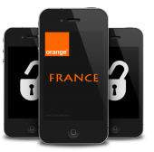 Orange France Iphone 3GS / 4 / 4S / 5 ( Only Clean Imei Supported )