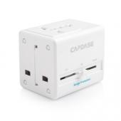 Capdase Power Travel Adapter BlockOne White (2.1 A) for iPhone/iPod/iPad mini/iPad (ADCB-T002)
