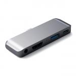 Satechi Aluminum Type-C Mobile Pro Hub Space Gray (ST-TCMPHM)