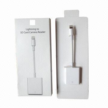 Адаптер Apple Lightning to SD Card Reader для iPad