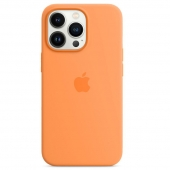 Apple Silicone Case with MagSafe for iPhone 13 Pro, Marigold (MM2D3)