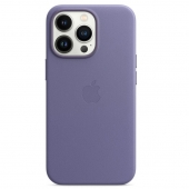 Apple Leather Case with MagSafe for iPhone 13 Pro, Wisteria (MM1F3)