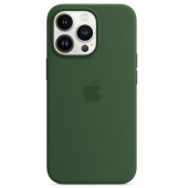 Apple Silicone Case with MagSafe for iPhone 13 Pro, Clover (MM2F3)
