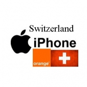 Switzerland Orange iPhone 3G / 3GS / 4 / 4S / 5