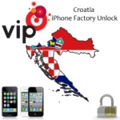 Croatia All Networks iPhone 3G, 3GS, 4G, 4GS,5