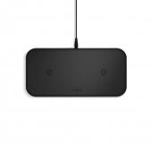 Беспроводное зарядное устройство Zens Dual Aluminium Wireless Charger 10W Black (ZEDC04B/00)