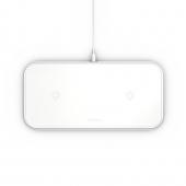 Беспроводное зарядное устройство Zens Dual Aluminium Wireless Charger 10W White (ZEDC04W/00)