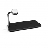 Беспроводное зарядное устройство Zens Dual + Apple Watch Black (ZEDC05B/00)