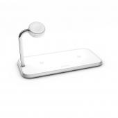 Беспроводное зарядное устройство Zens Dual + Apple Watch White (ZEDC05W/00)