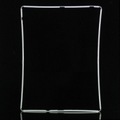Рамка под тачскрин iPad 2 белая