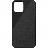 Чехол накладка Native Union Clic Canvas Case for iPhone 12/12 Pro, Slate (CCAV-BLK-NP20M)