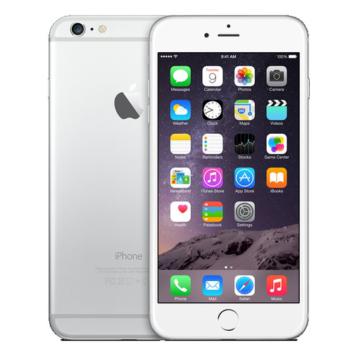 Apple iPhone 6 128GB Silver (Slim Box)