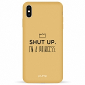 Чехол Pump Silicone Minimalistic Case for iPhone XS Max I'm a Princess