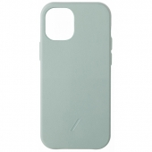 Чехол накладка Native Union Clic Classic Case for iPhone 12/12 Pro, Sage (CCLAS-GRN-NP20M)