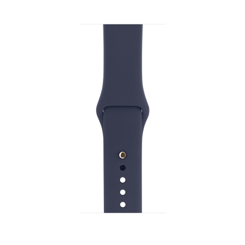 Часы Apple Watch Series 2 42mm Gold Aluminum Case with Midnight Blue Sport Band (MQ152)